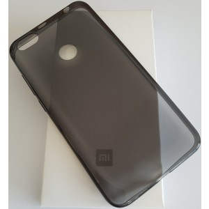 Xiaomi Redmi Note 5A Prime Soft Case(fingerprint access) Čierne